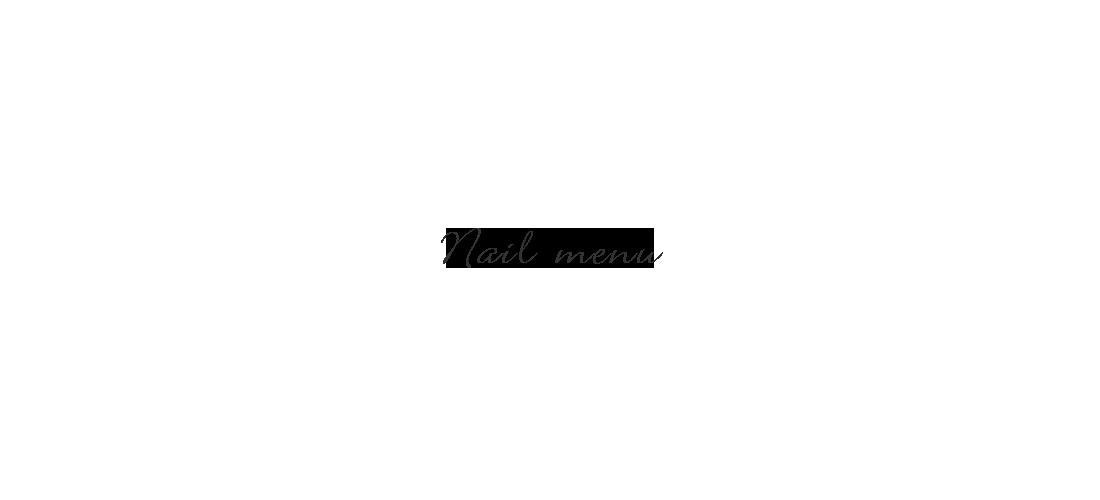 NAIL MENU